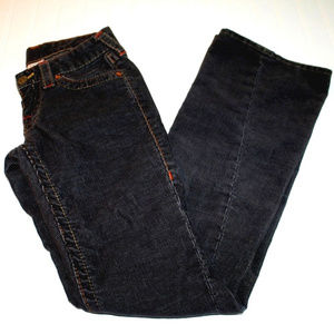 True Religion Joey Corduroy Grey Jeans Pants Cords